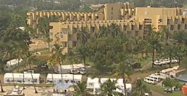 Hotel du Golf - Alassane Ouattara staying under guard
