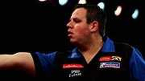 Adrian Lewis held off a a battling Gary Anderson at the Alexandra Palace