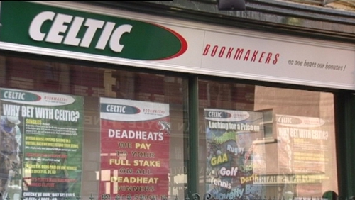 Betting shops - Celtic Bookmakers owed banks €6m