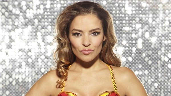 Rives photographed for Dancing on Ice