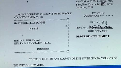 Affidavit - Gayle Killelea Dunne files case against law firm