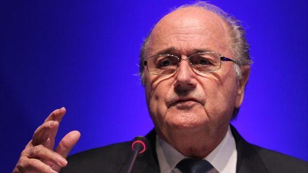Sepp Blatter - Brazened out what was often a fractious press conference