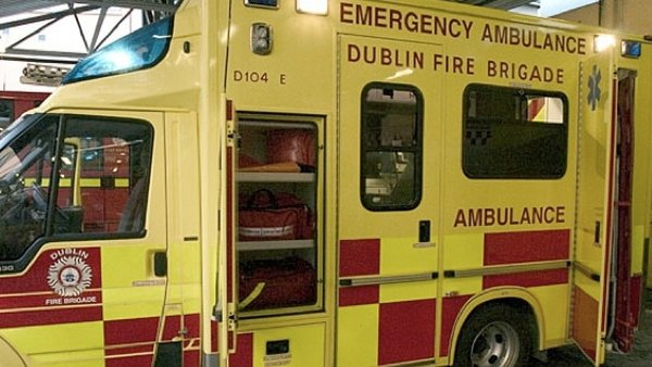Dublin - Fire service ambulance recovered by gardaí