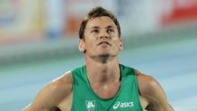 David Gillick was European 400m indoor champion in 2005 and 2007