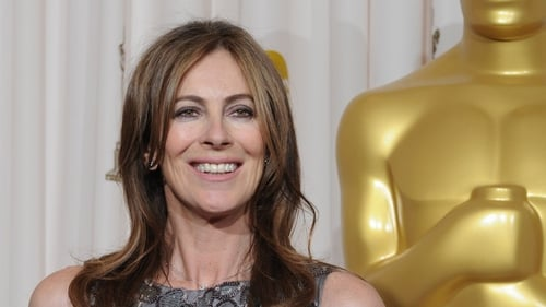 Bigelow was the first woman to win a best director Oscar for her Iraq war movie The Hurt Locker