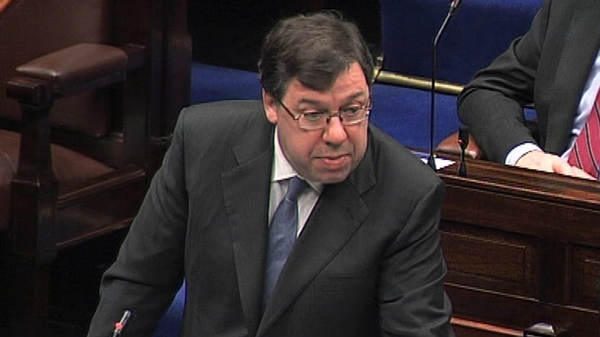 Brian Cowen - Denied accusations of economic treason