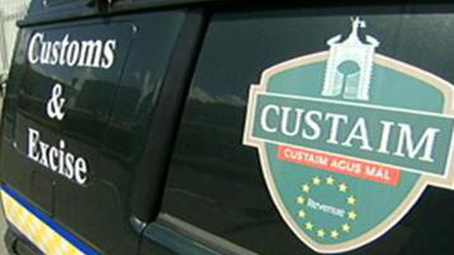 The man was arrested in a joint operation between customs officers and gardaí