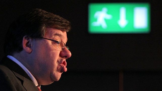 Brian Cowen - Will seek to dissolve Dáil on Tuesday