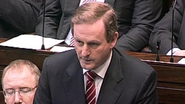 Enda Kenny - Happy to participate in a debate between five leaders