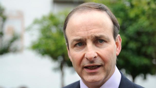 Micheál Martin - Called on Fianna Fáil members to have their say