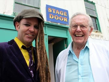 Duke Special and Bernie Burgess, Ruby's former husband