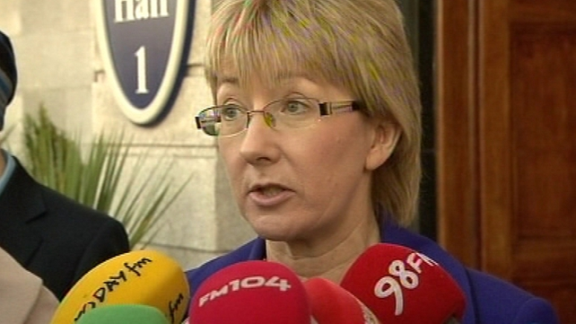 Mary Hanafin - Gave her views to the Taoiseach this afternoon