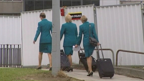 Aer Lingus cabin crew - Have been engaging in work-to-rule since October
