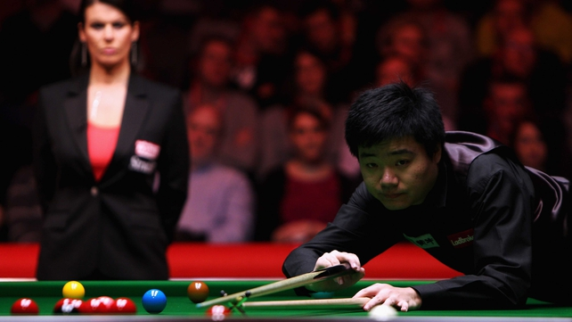 Ding Junhui will face Stuart Bingham