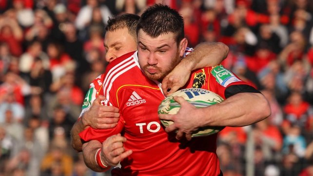 Damien Varley is the most high profile of three Munstermen to have extended their contracts with the province