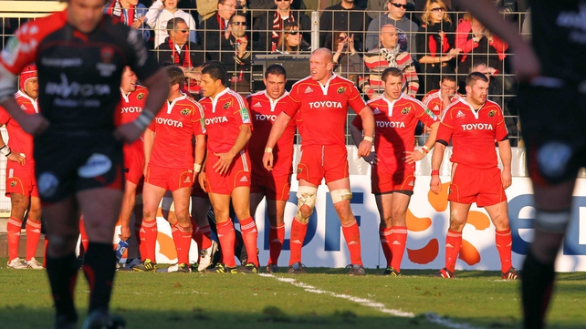 Paul O'Connell's Munster were out-gunned in all departments at Stade Mayol
