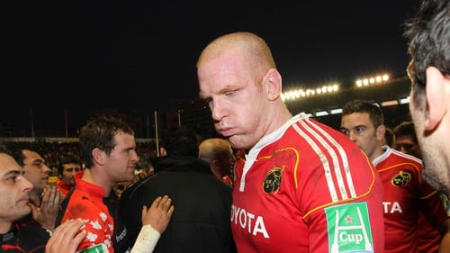 Paul O'Connell and Munster were well beaten by Toulon
