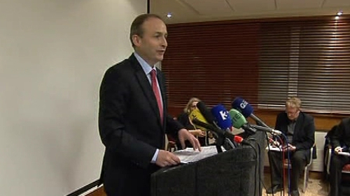 Micheál Martin - Offered his resignation