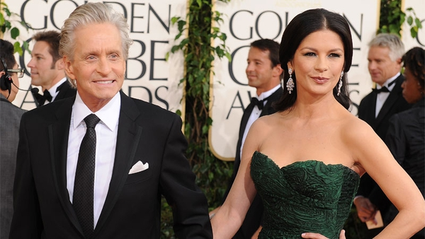 Michael Douglas has insisted that his relationship with Catherine Zeta-Jones are fine