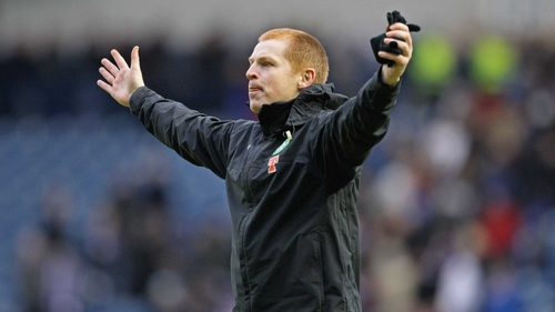 Neil Lennon's Celtic wil play in the Aviva Stadium this summer