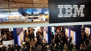Weak client spending and a slumping software sector has hit IBM's quarterly revenue