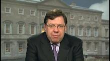 RTÉ.ie Extra Video: Brian Cowen interview