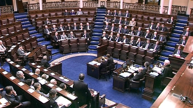 Dáil - President accepts resignations of ministers