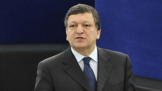 José Manuel Barroso - Angry comments about Ireland
