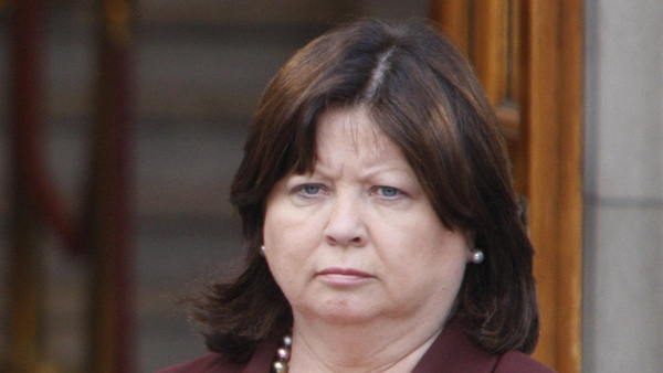 Mary Harney said she was sure minutes of departmental meetings would confirm her claims
