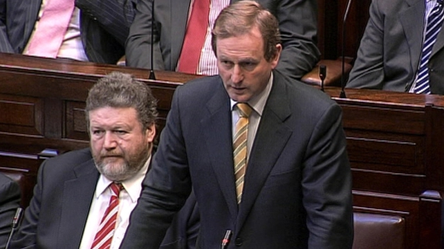 Enda Kenny - Criticised the Taoiseach for not being in the Dáil to discuss the resignations