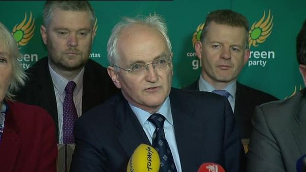 John Gormley - Main focus has been passing the Finance Bill