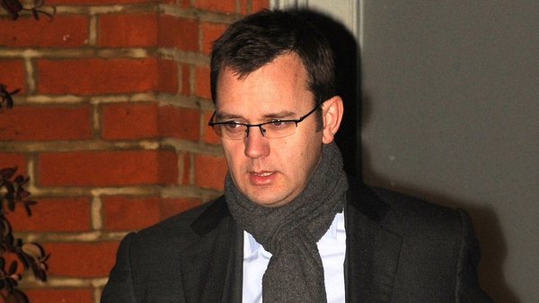 Andy Coulson - Former editor of News of the World