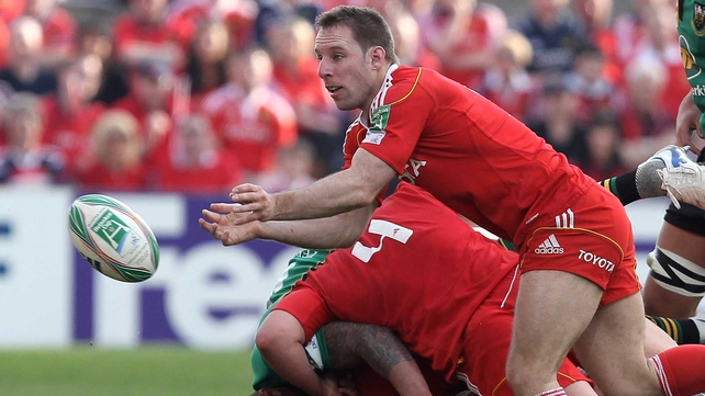 Tomás O'Leary: in Munster starting lineup
