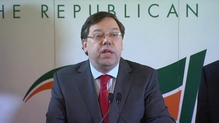 RTÉ.ie Extra Video: Brian Cowen resigns as FF leader