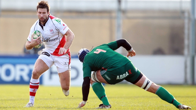 Danielli has featured for Ulster only seven times this season