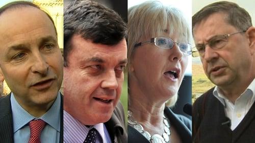 Martin, Lenihan, Hanafin and Ó Cuív - Four declare interest in FF leadership