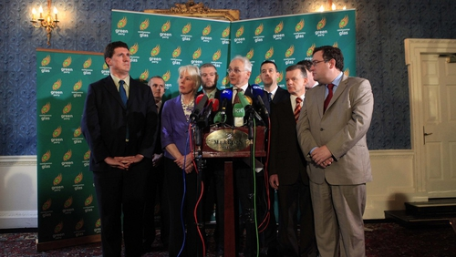 Green Party - Party's 'patience finally ran out'