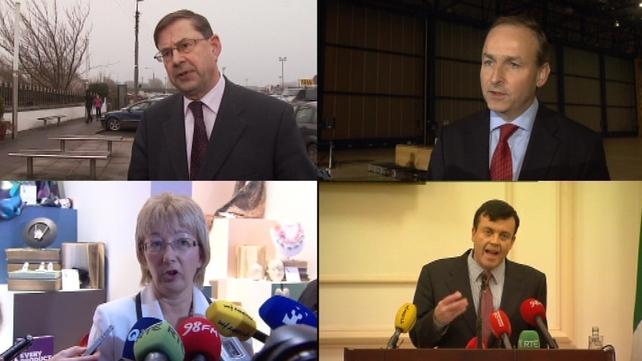 Fianna Fáil - Four TDs aiming to succeed Brian Cowen