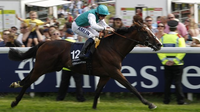 Workforce shattered the Epsom course record when slamming the opposition by seven lengths in the Derby