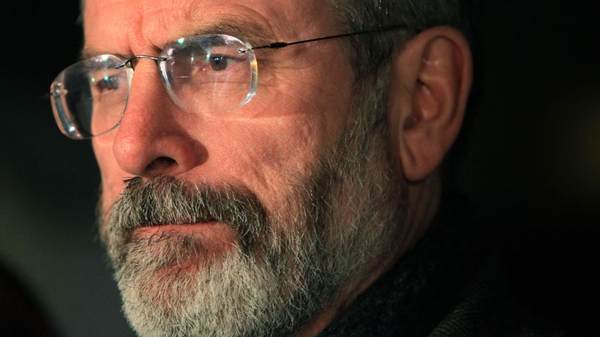 Gerry Adams - General dissatisfaction with political parties