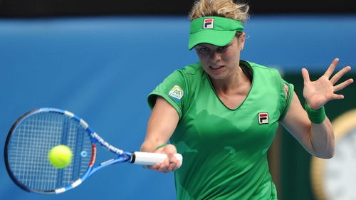 Clijsters - Produced an error-strewn display against her Dutch opponent