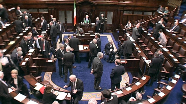 Dáil - Finance Bill now goes to the Seanad