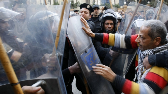 Egypt - Police tried to disperse protests