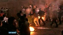 Nine News: Egyptian protesters clashed with police