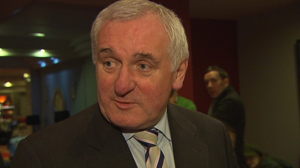 Bertie Ahern will be joined by Tony Blair and Gerry Adams in Spanish visit