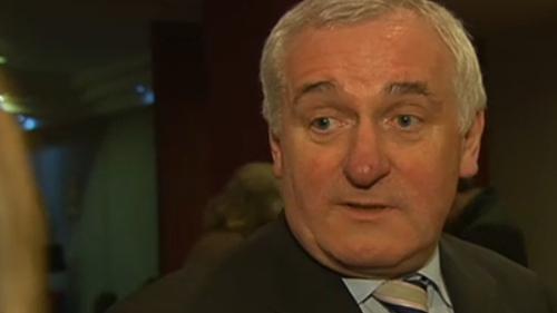 Bertie Ahern has announced his resignation from Fianna Fáil