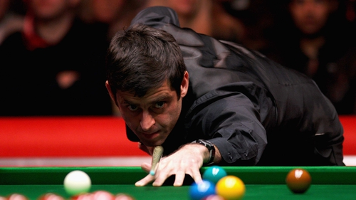 Ronnie O'Sullivan is in complete control against Peter Ebdon