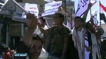 Nine News: Protestors take to the streets in Yemen