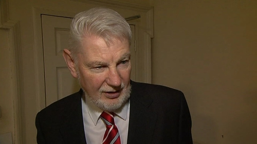 David Begg - Involved in the Turn Off the Red Light campaign