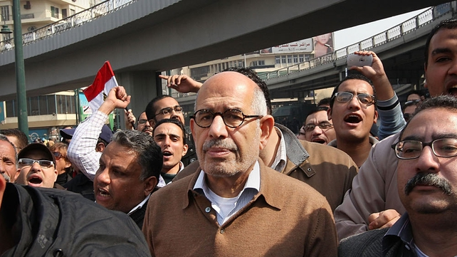 Mohamed ElBaradei - Reportedly placed under house arrest